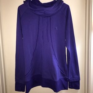 Adidas cowl neck hoodie sz XL